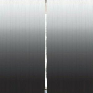 Curtains Modern Black Ombre Print Backdrop 8606